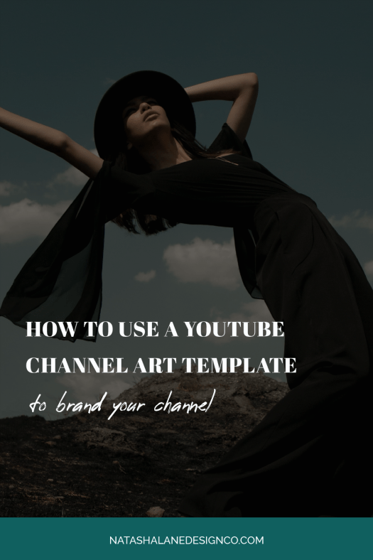 How to use a YouTube Channel Art Template to brand your channel