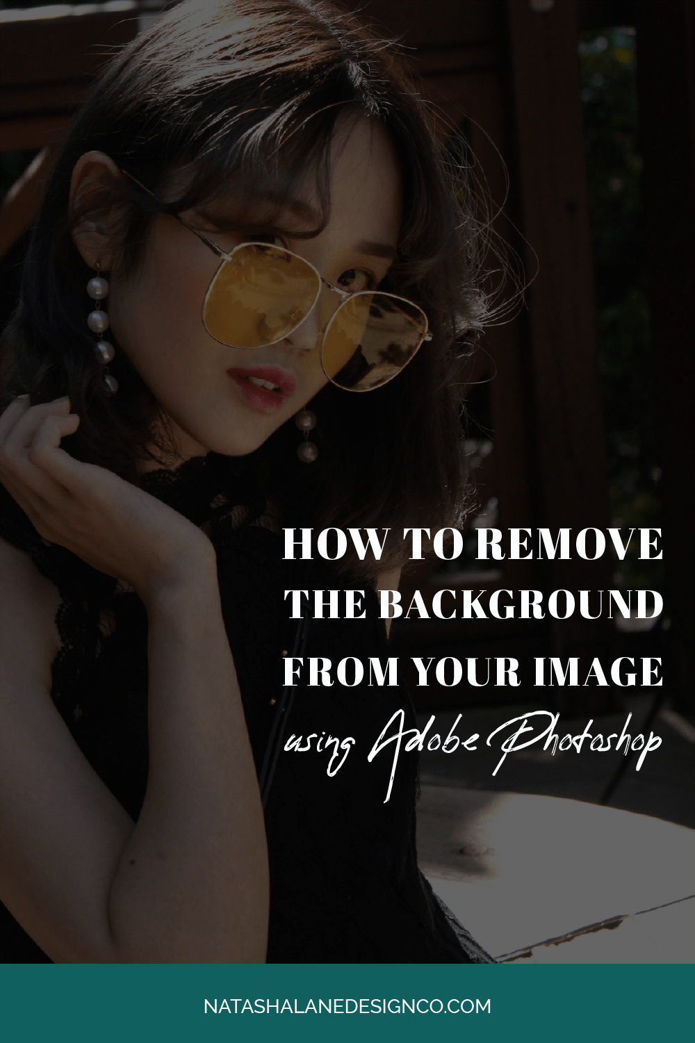 How to remove the background from your image to create YouTube thumbnails using Adobe Photoshop
