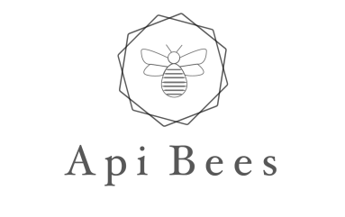 LOGO FOR API BEES HONEY