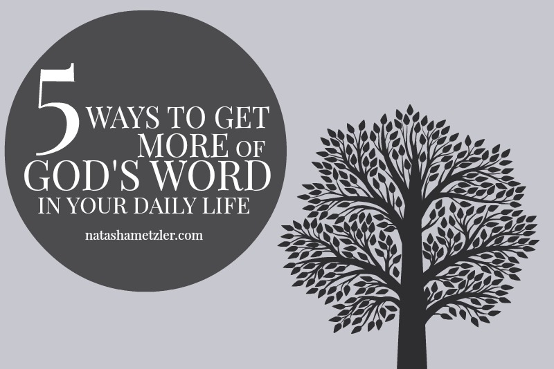 5 ways to get more of God's Word in your daily life
