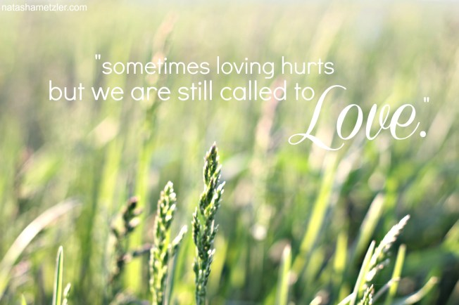 when loving hurts