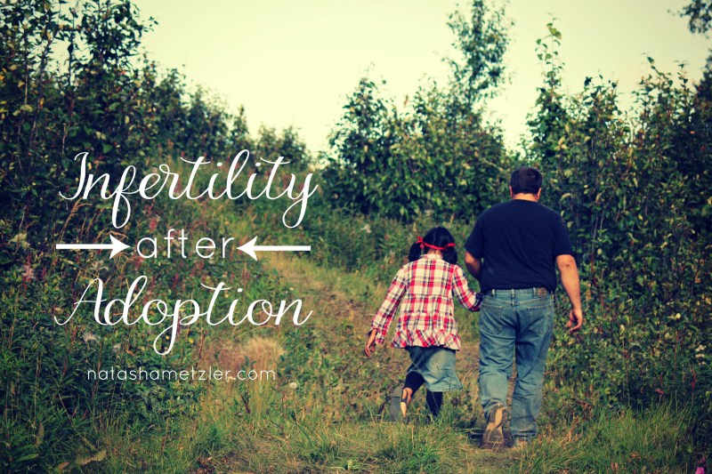 infertility after adoption