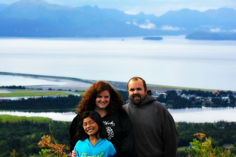 the family in Homer, AK