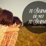 to submit or not to submit