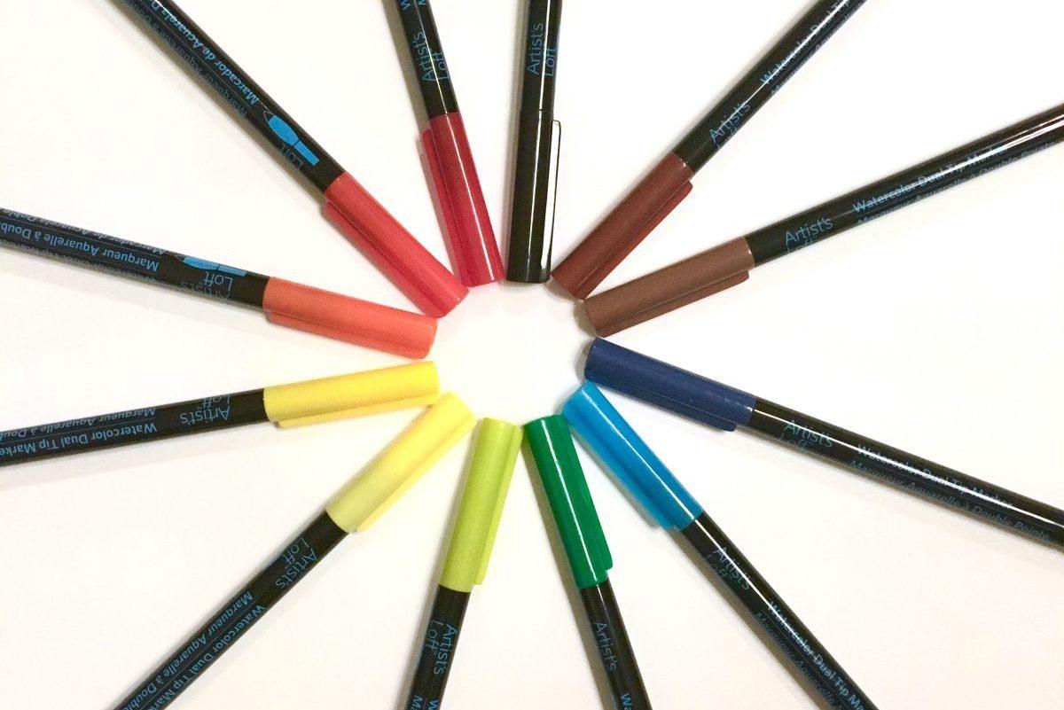 Artist's Loft Brush Pens