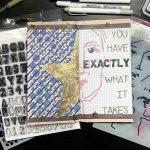 Art Journal in a Traveler's Notebook