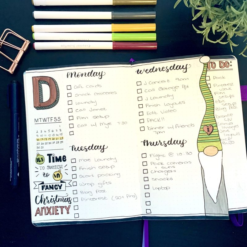 Bullet Journal Layout Tips and Tricks