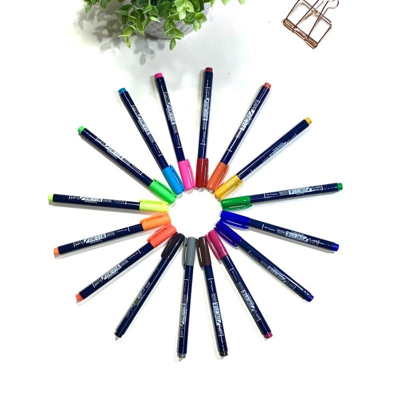 Pentel Brush Pens vs Tombow Fudenosuke