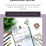 Nutcracker Bullet Journal Setup