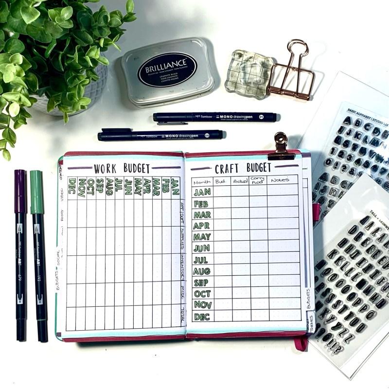 2021 Bullet Journal Setup Ideas