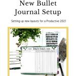 New Bullet Journal Setup