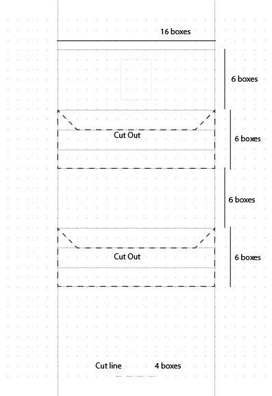 Dissolving Pull Tab Base Template