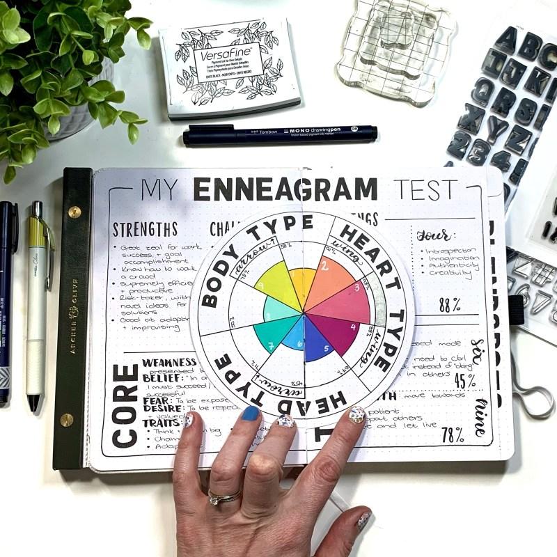Enneagram Bullet Journal Setup