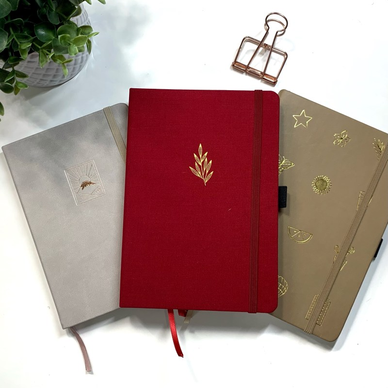 160GSm Dotted Notebooks