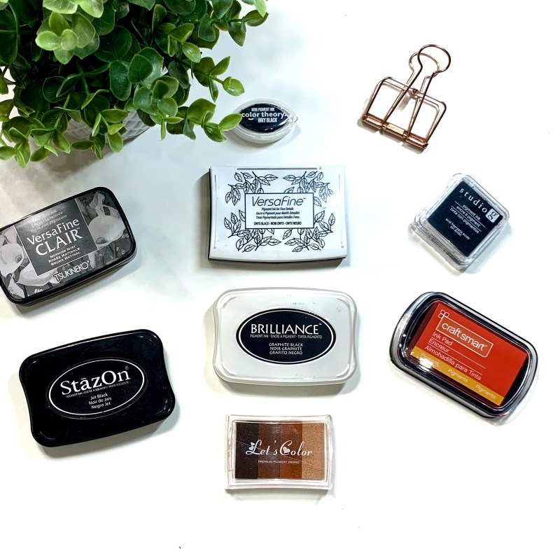 Pigment Ink Stamp Pads