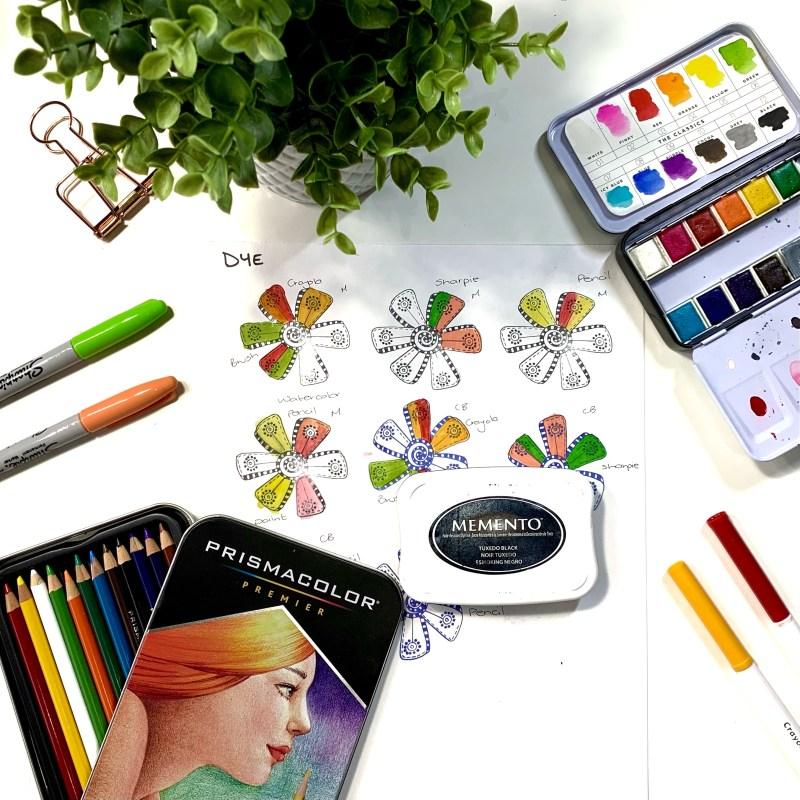 Coloring Dye Stamp Inks