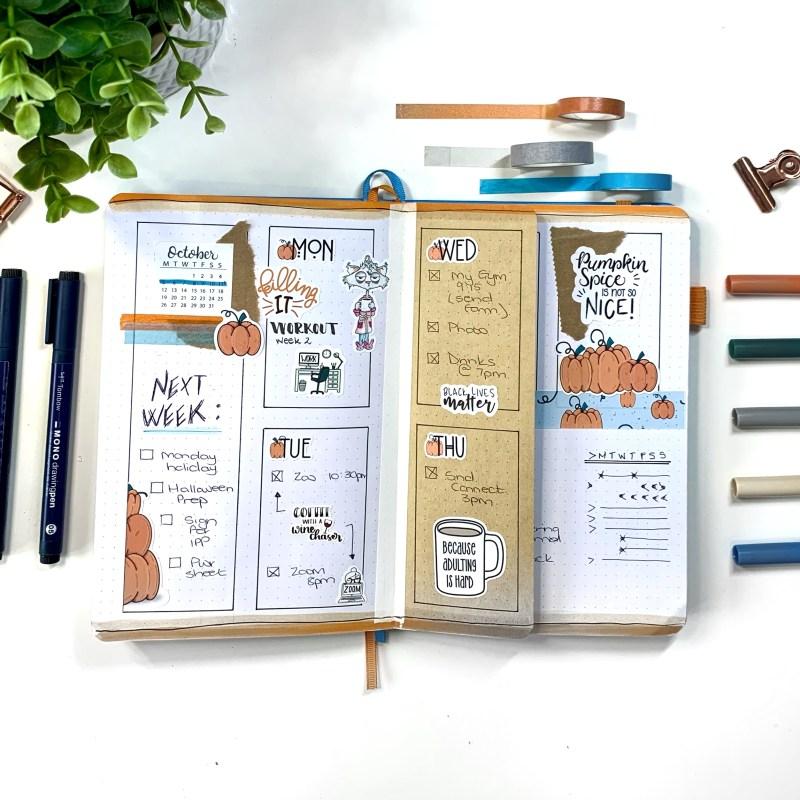 Fun Bullet Journal Layout Ideas