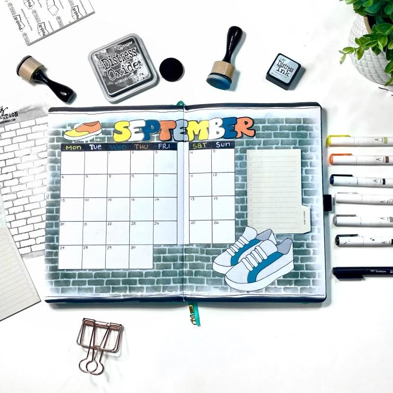 September Creative Bullet Journal