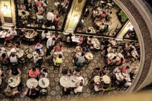Confeitaria Colombo from above