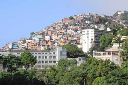 Favelas of Rio, Vidigal in this case