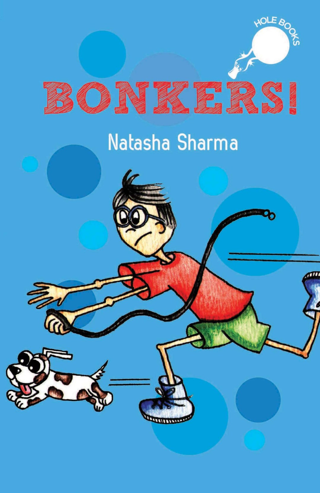Bonkers hole book Natasha Sharma