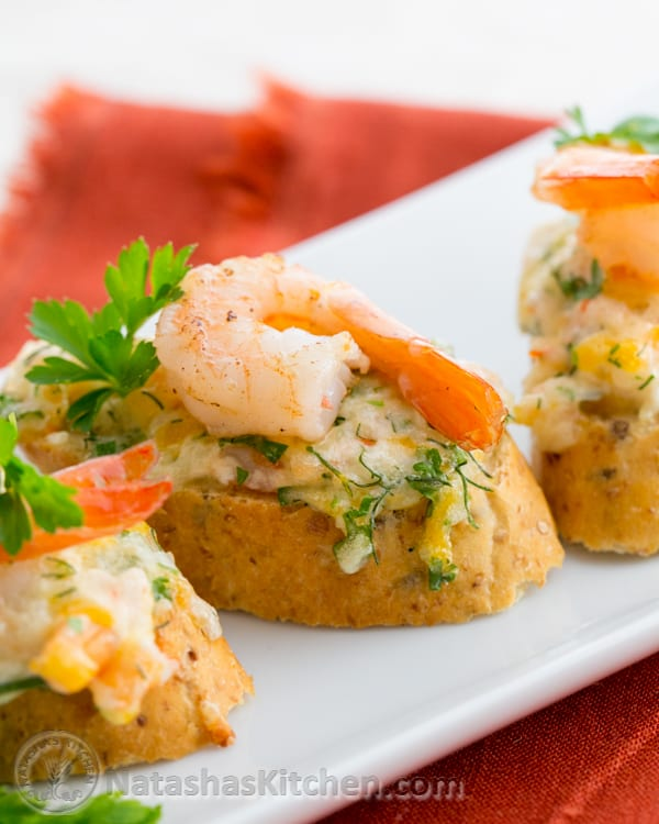 these shrimp and cheese canapes are a keeper uber delicious and so easy to make