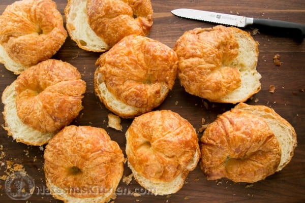 French Almond Croissants_-6