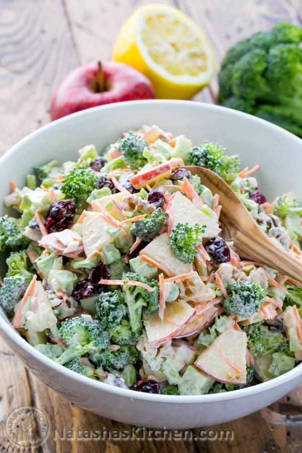www.roxypaay.com brocoli appel walnoot salade