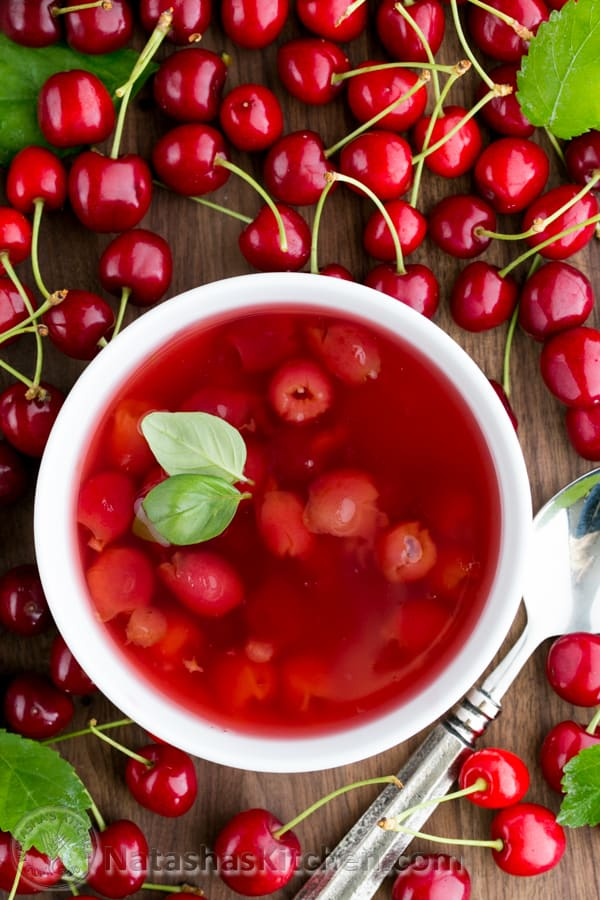 Cherry Soup Kissel Recipe Summer Soup Fruit Soup Kissel