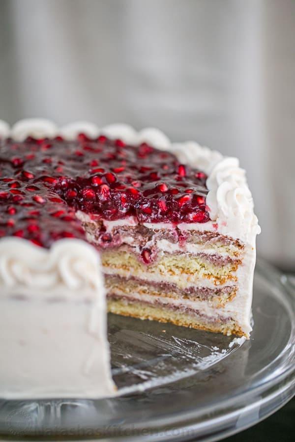 Easy Sponge Cake Recipe Classic Genoise Natashas Kitchen