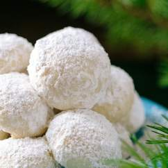 Little Bakers Kitchen High Arc Faucet Almond Snowball Cookies Recipe - Natashaskitchen.com