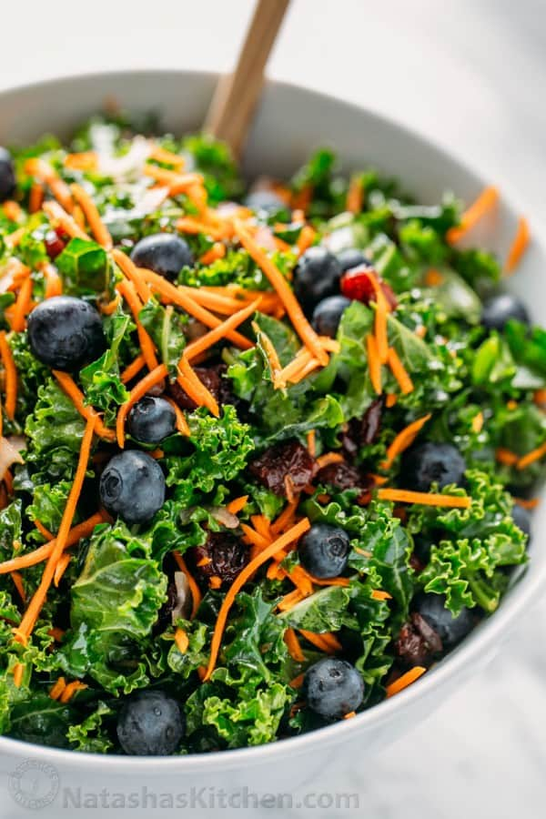 Spinach Salad Blueberries Recipe
