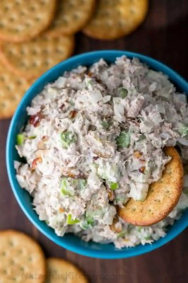 SO GOOD! This Tuna Salad is easy and healthy. The surprising secret ingredient in this tuna salad makes it so addictive. Try this as cheesy tuna melts!