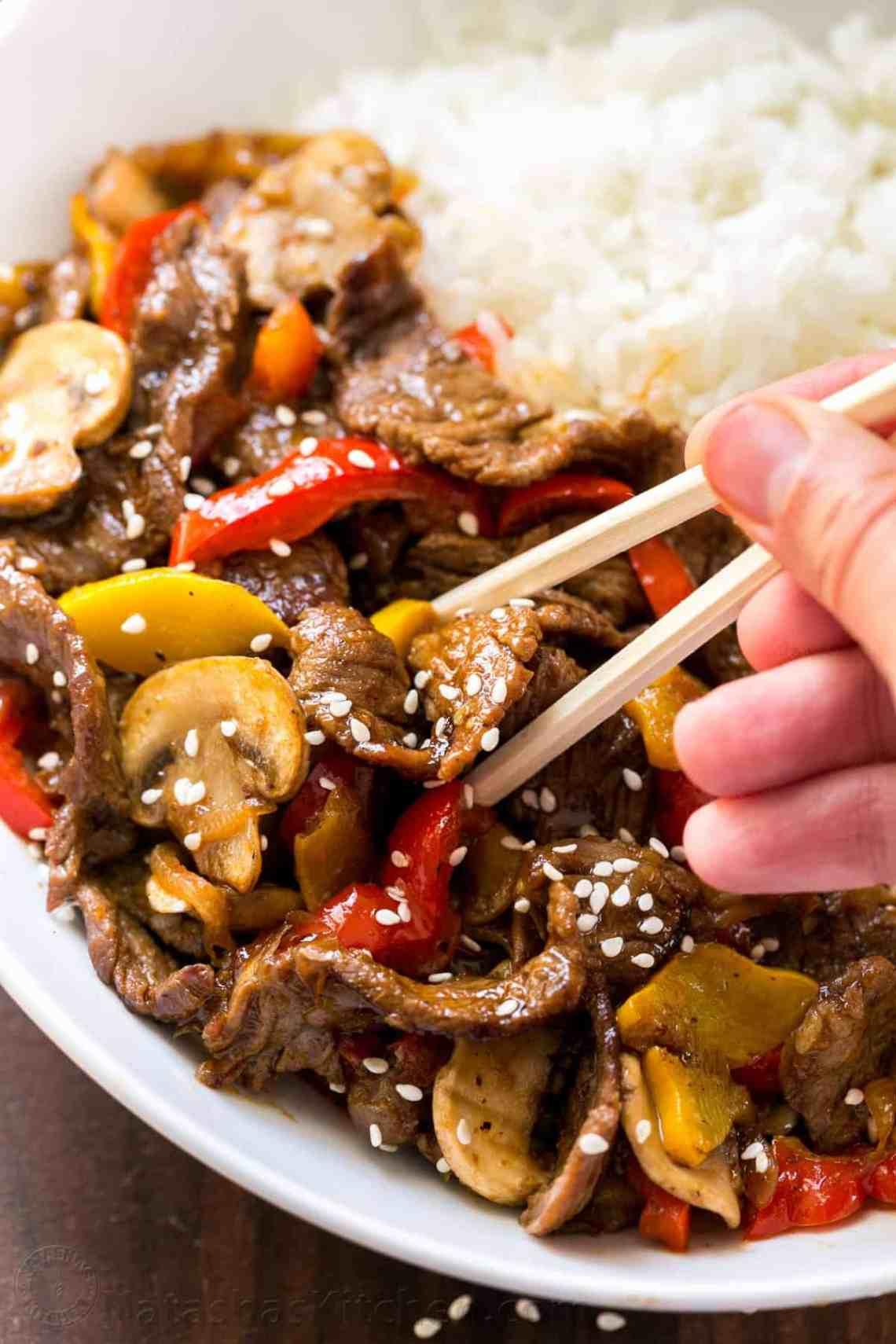Beef Stir-Fry Recipe with 3 Ingredient Sauce ...