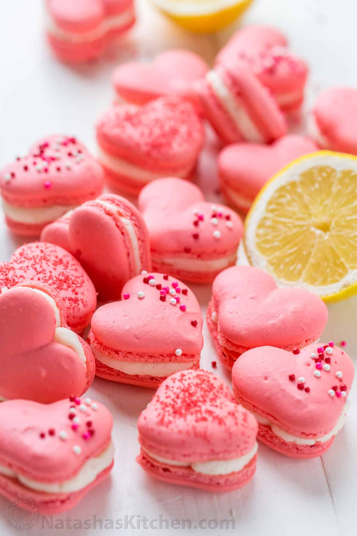 kitchen aid mixing bowls sink spray nozzle replacement heart macarons with lemon buttercream (video ...