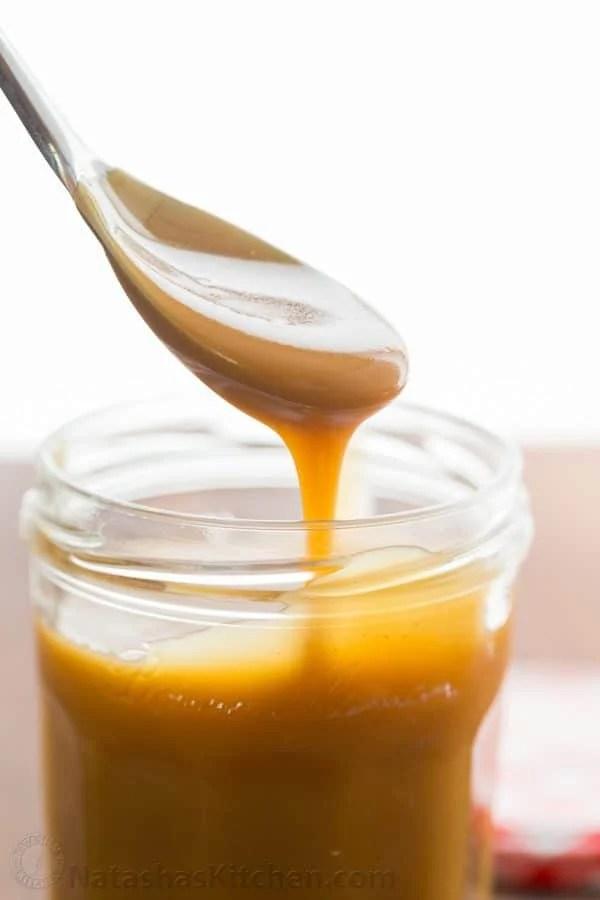 Easy Caramel Sauce Recipe Natashaskitchen Com