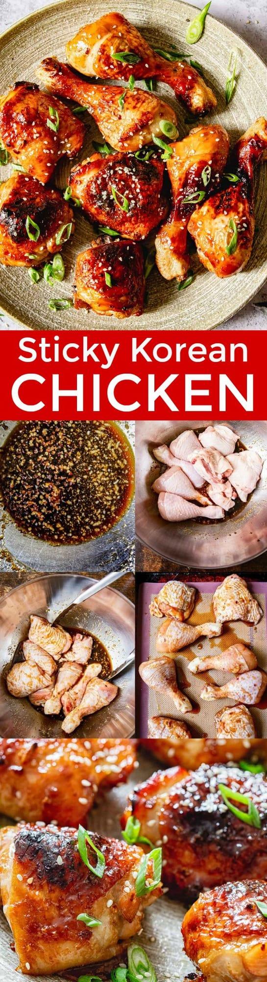 Sticky Mix Master : sticky, master, Sticky, Korean, Chicken, NatashasKitchen.com