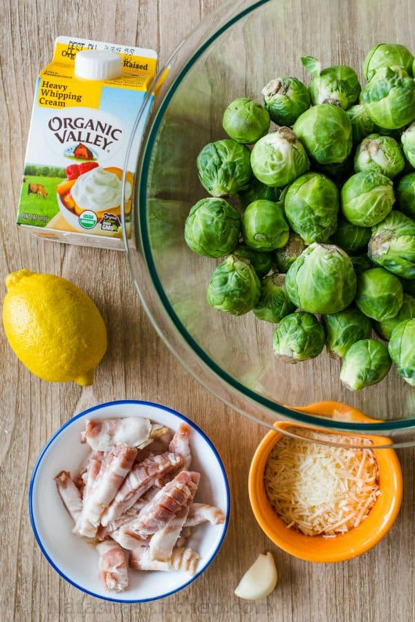 Ingredients for brussels sprouts with how to select brussel sprouts