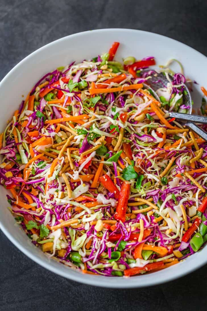 Asian Chopped Salad in a bowl.
