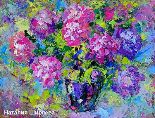 Картина Пионы для Любимой художник Наталия Ширяева