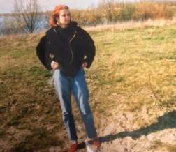 begin 1991 die schoenen en dat jasje en die broek vreselijk