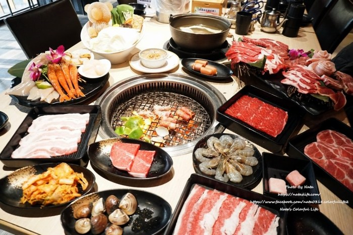 【美食♔台南永康區燒烤】野村燒肉(台南永大店)。吃到飽還分價錢?使用原肉,挑嘴得你絕對會讓你滿意
