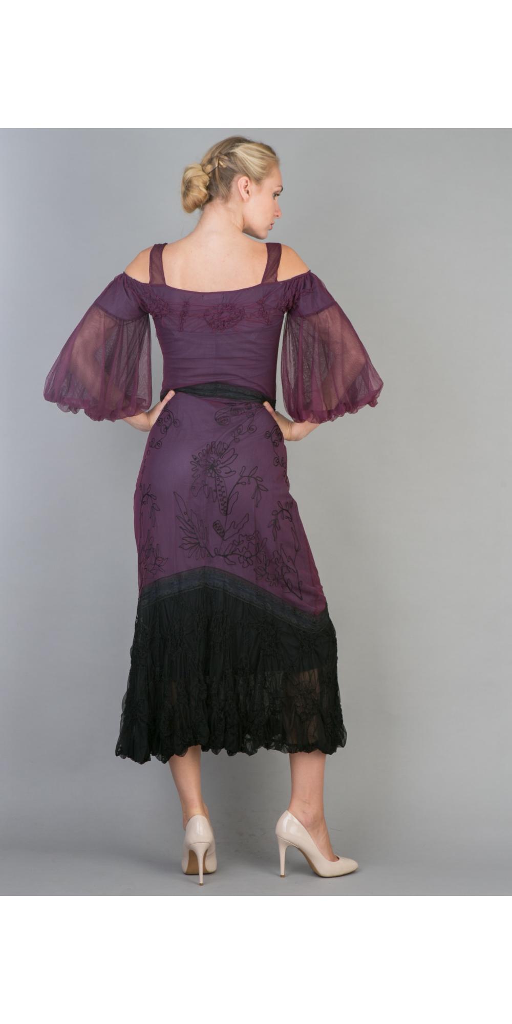 Nataya 40224 OffShoulder Vintage Party Dress