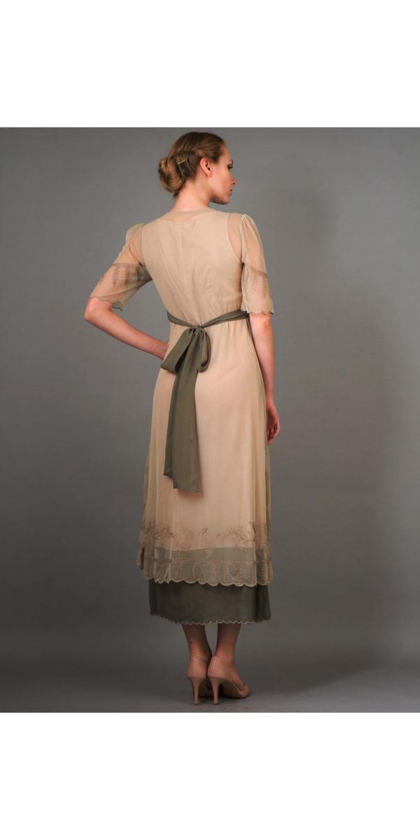 Nataya Titanic Dress 40007 In Sage