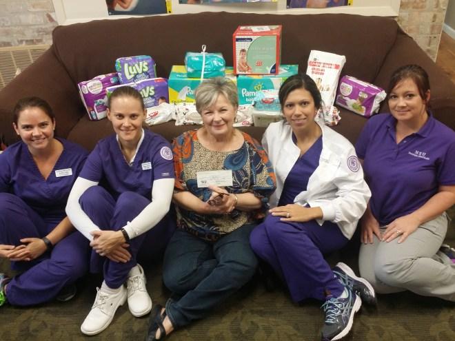 SNA donation Crisis Pregnancy Center