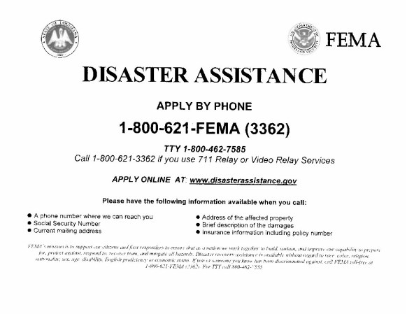 FEMA – Disaster Assistance | Natchitoches Parish Journal