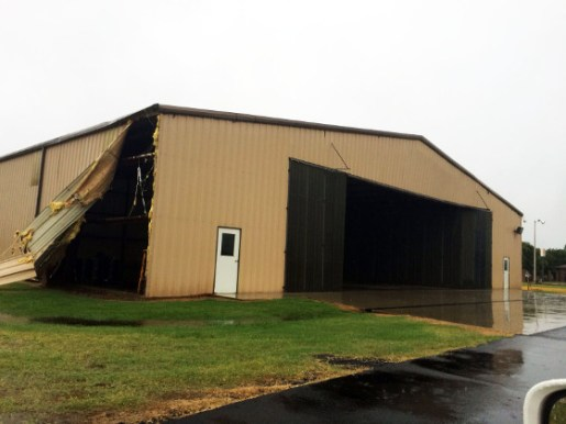 Hangar Damage