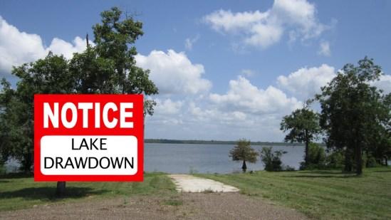Saline Lake Drawdown