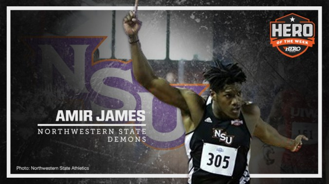 amir-james-northwestern-st-tf-2017-hotw