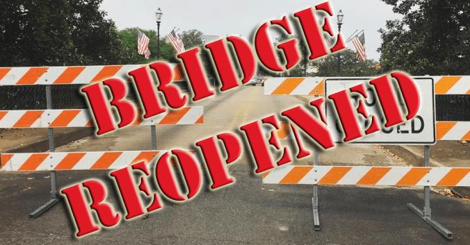 Bridge Reopened